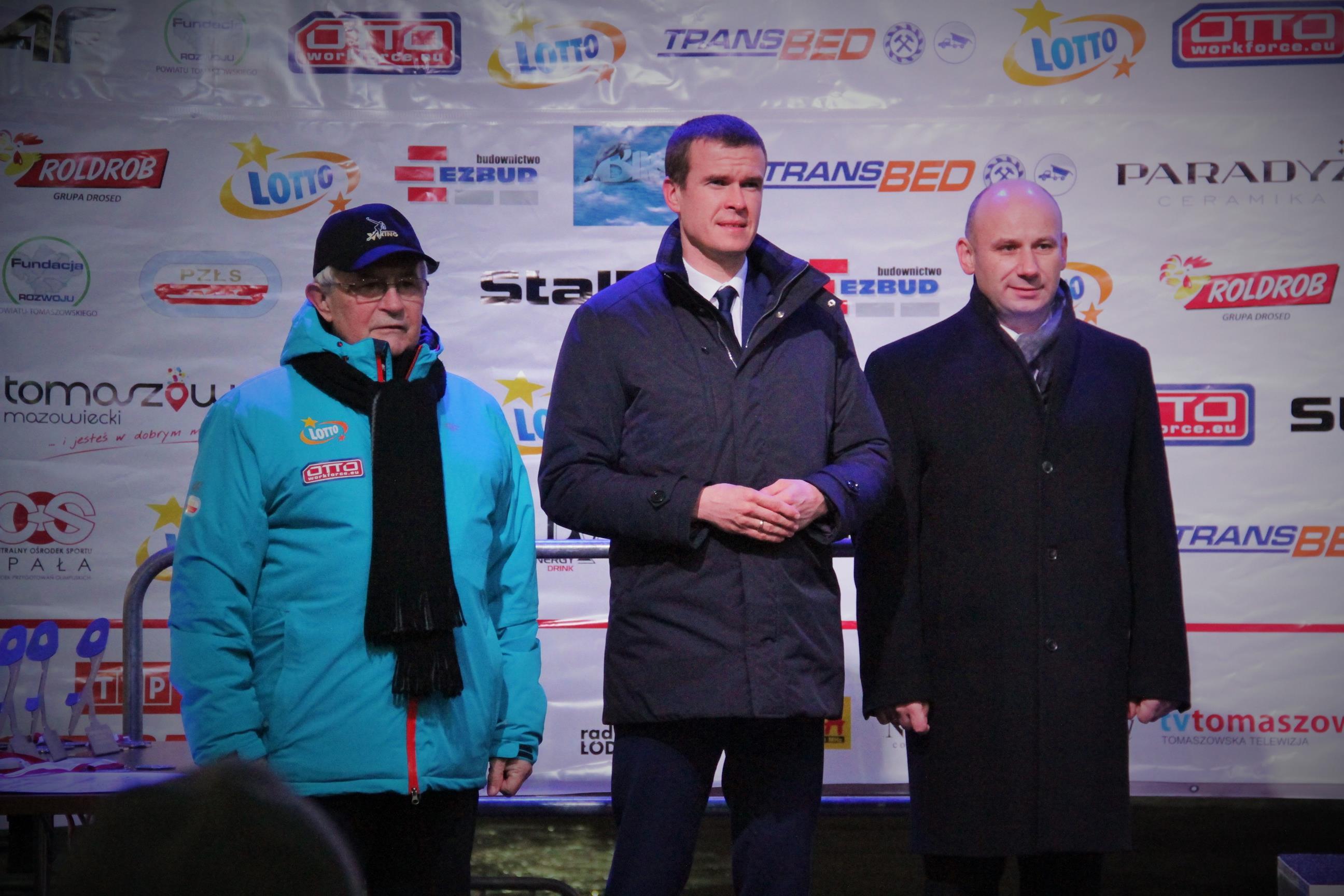 Na zdjęciu: Marcin Witko, Witold Bańka oraz Kaziemierz Kowalczyk