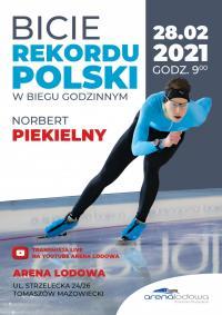 Będzie bić rekord Polski w Arenie