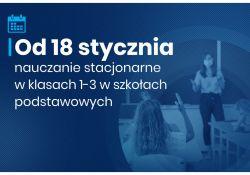 Do tomaszowskich szkół powrócą uczniowie klas 1-3