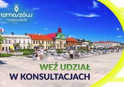 Rozwój Lokalny Tomaszowa Mazowieckiego. Tworzymy przyszłość miasta. Przyłącz się!