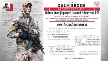 Zostań Żołnierzem Rzeczypospolitej – rusza nowy system rekrutacji do Wojska Polskiego