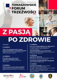 Zapraszamy na Tomaszowskie Forum Trzeźwości