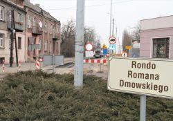 DW 713 – rozpoczęcie prac na Rondzie Dmowskiego