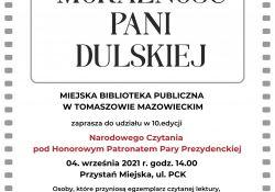 Narodowe Czytanie na tomaszowskiej przystani