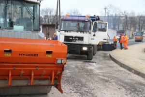 Trwa modernizacja ulicy Borek