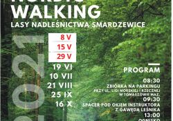 """Rajdy """"Patyczaków"""" Nordic Walking – zmiana terminów"""