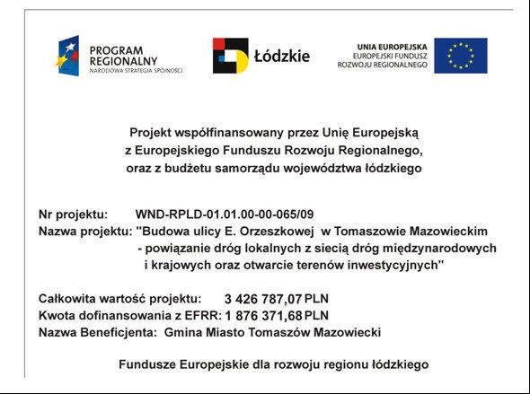 Fundusze Europejskie-Orzeszkowa